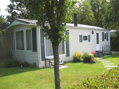Chalet and spaces for mobile homes
